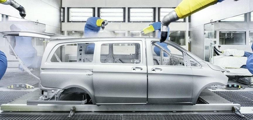 Blacharnia i lakiernia Kraków Mercedes-Benz