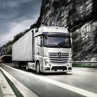 Serwis samochodów ciężarowych Mercedes0-Benz Aso Kosmowski Kraków